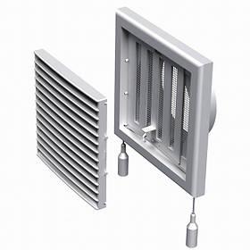 Решетка вентиляционная пластиковая МВ 101 ВРс