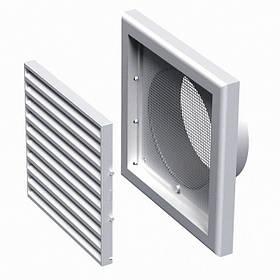 Вентиляционная решетка пластиковая МВ 120 Вс