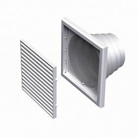 Вентиляционная решетка пластиковая МВ 120 ВНс