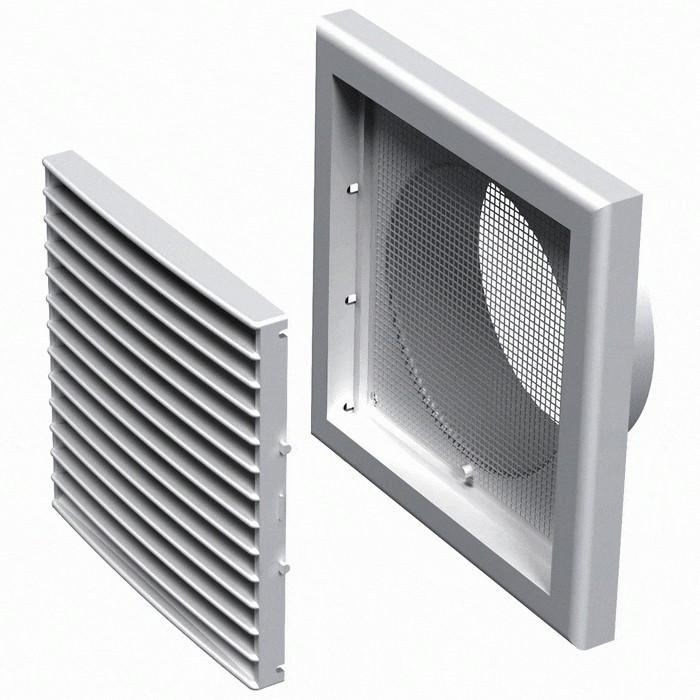 Решітка вентиляційна пластикова МВ Вс 121