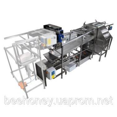 Автоматическая линия для распечатывания и откачки мёда базовая версия