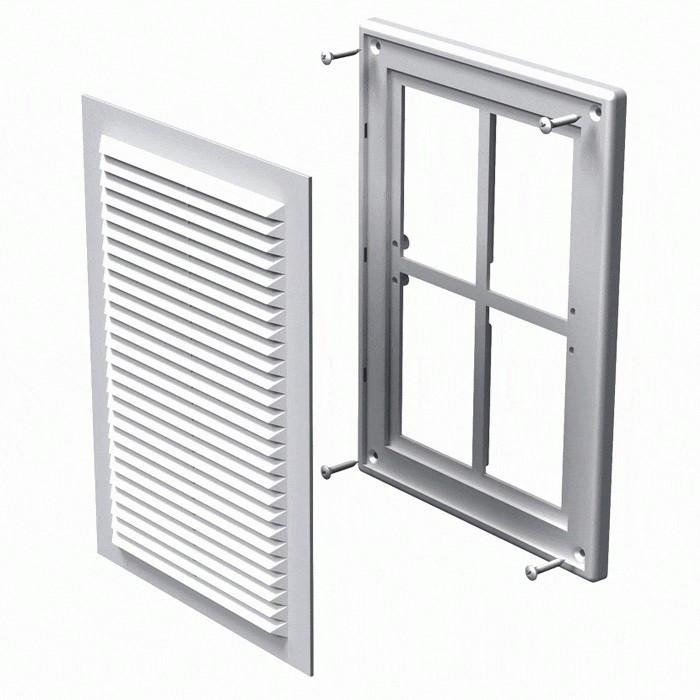 Вентиляційна решітка Вентс МВ 125 Мс