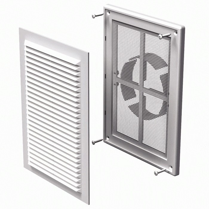 Вентиляційна решітка Вентс 125 МВ ВДМс