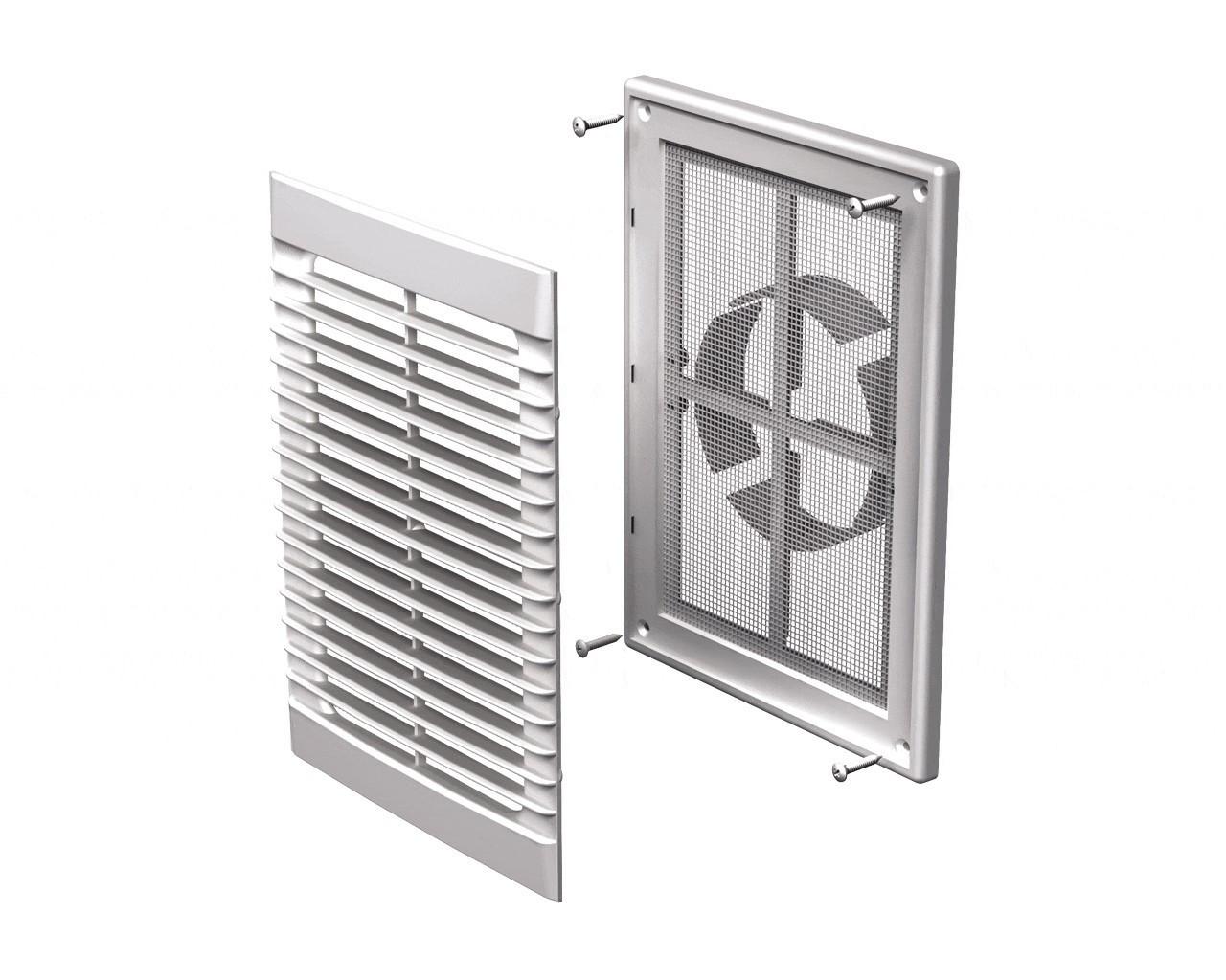 Вентиляционная решетка пластиковая Вентс МВ 126 ВДс