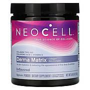 Коллагеновый Комплекс для Кожи в Порошке, Derma Matrix, NeoCell, 6.46 унции (183 гр)