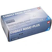 Перчатки нитриловые COBALT BASIC PLUS M/L/XL нестерильные без пудры 200 шт/пач