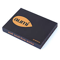 Коробка подарочная для упаковки набора ореховых паст AUMI в стеклянных баночках по 50г, фото 6