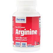 L-аргинин, 1 000 мг, Jarrow Formulas, 100 таблеток