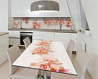 Наліпка 3Д виниловая на стол Zatarga «По кремовым следам» 650х1200 мм для домов, квартир, столов, кофейн,, фото 1