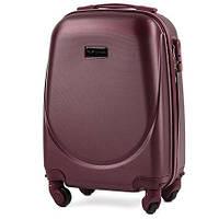 Дорожный чемодан wings 310 бордовый размер XS(мини), фото 1