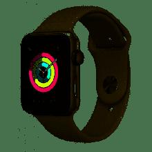 MTEY2LL/A Apple Watch Series 3 38mm Silver Aluminum White Sport Band (GPS) (S) Serial No.GJ9D79U5J5WY