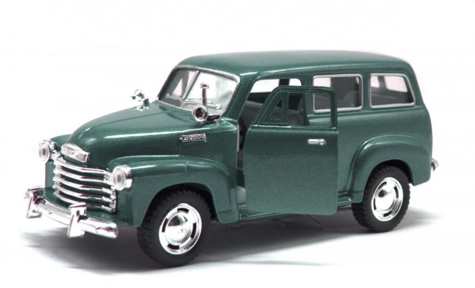 Модель легкова KT5006W CHEVROLET SUBURBAN CARRYALL 1950 (Темно-Зелений)