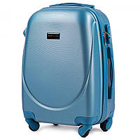 Дорожный чемодан wings 310 голубой размер XS(мини), фото 1
