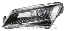 Фара правая электро D3S+LED (без AFS) для Skoda Superb 2013-15