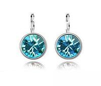 """Серьги """"Голубой кристалл"""""""