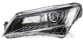Фара левая электро D3S+LED (без AFS) для Skoda Superb 2013-15