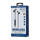 Беспроводные Bluetooth наушники Remax RB-S27 вакуумные спортивные, стерео гарнитура, black, фото 4