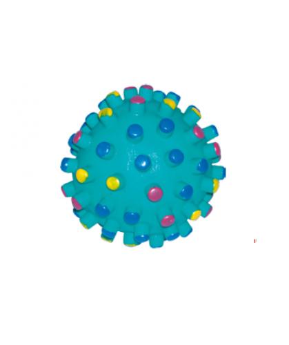 Игрушка для собак мяч-мина виниловая пищалка 9см CaniAMici