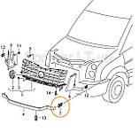 Крепление решетки VW CRAFTER 13- L VAG 2E0853733, фото 2