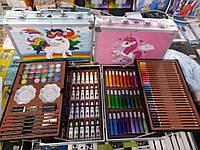 Детский набор для творчества Единорог ( розовый кейс)