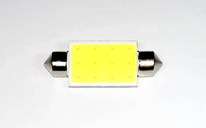Лампа автомобильная светодиодная ZIRY C5W 41mm белая