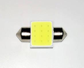 Лампа автомобильная светодиодная ZIRY C5W 31mm белая