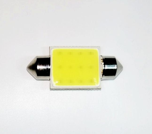Лампа автомобильная светодиодная ZIRY C5W 36mm белая