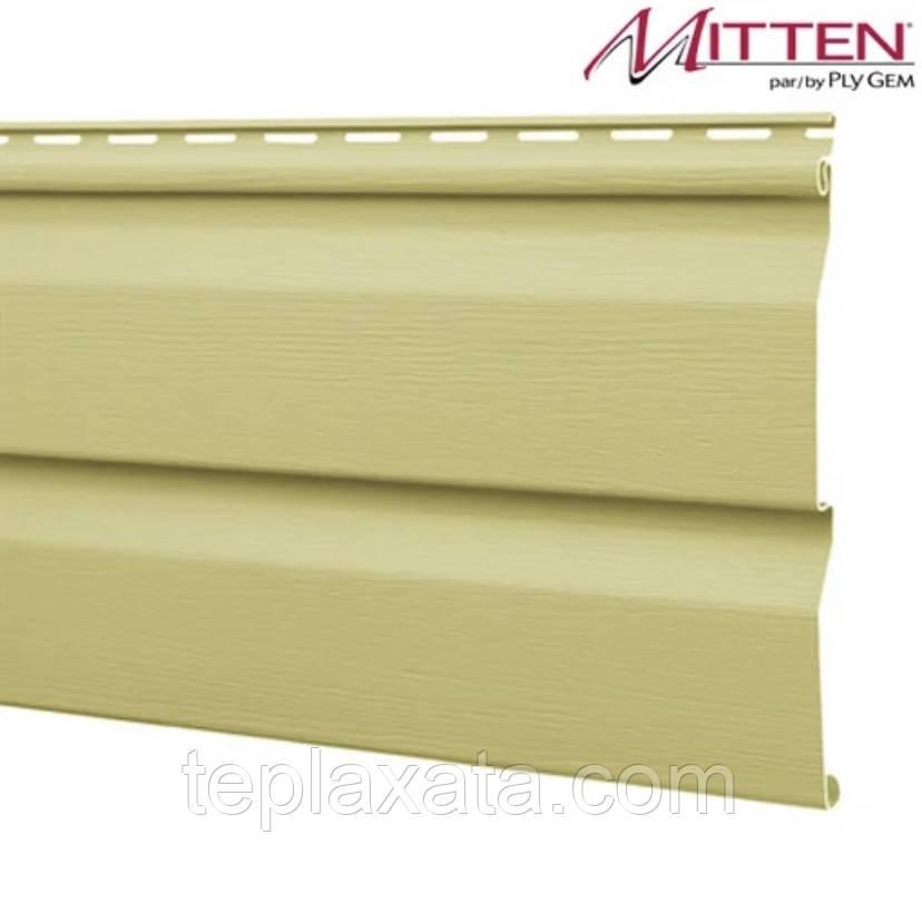 ОПТ - Сайдинг виниловый MITTEN Ivory (0,8464 м2)