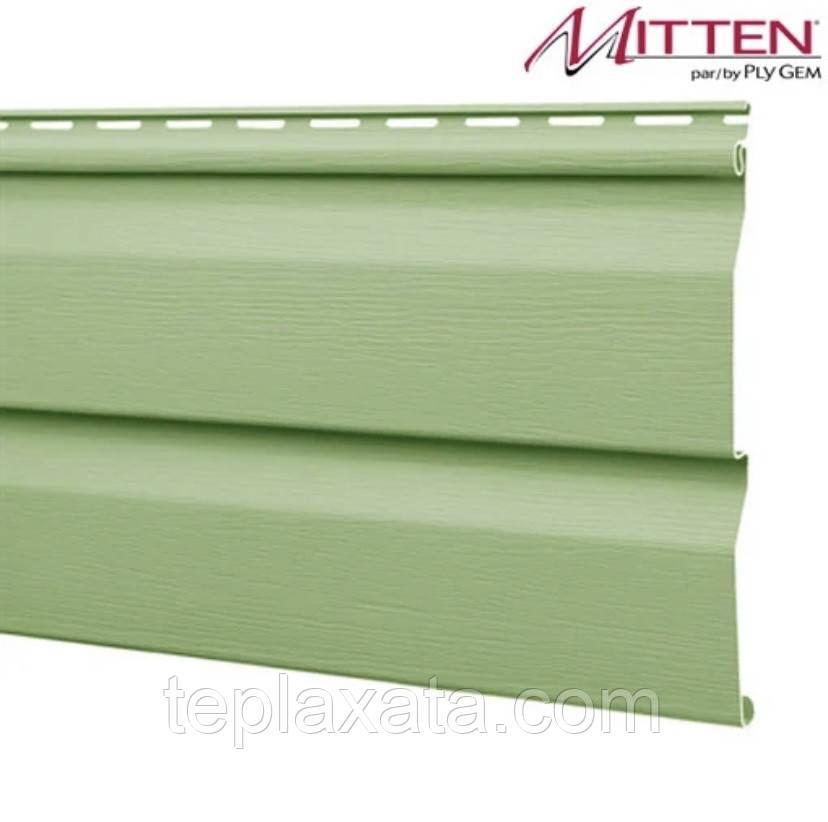 ОПТ - Сайдинг виниловый MITTEN Mist Green (0,8464 м2)