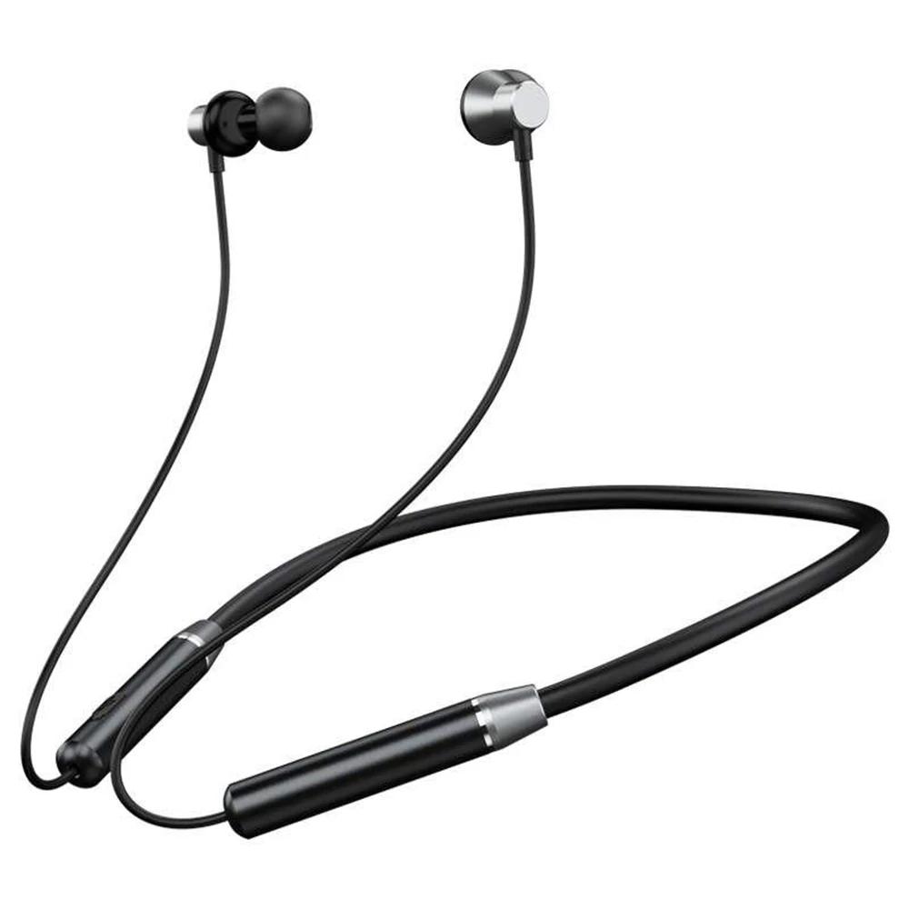 Беспроводные Bluetooth наушники Remax RB-S29 вакуумные спортивные, стерео гарнитура, black