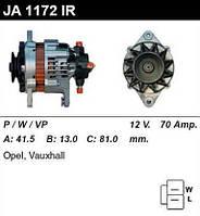 Генератор відновлений Opel Astra, Opel Combo, Opel Corsa, Opel Vectra JA1172IR R