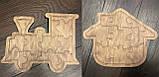 Пазлы деревянные  Набор из 10-ти пазлов, фото 7