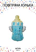 Бутылочка с крыльями голубая (61х80см)