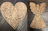 Пазлы деревянные  Набор из 10-ти пазлов, фото 8