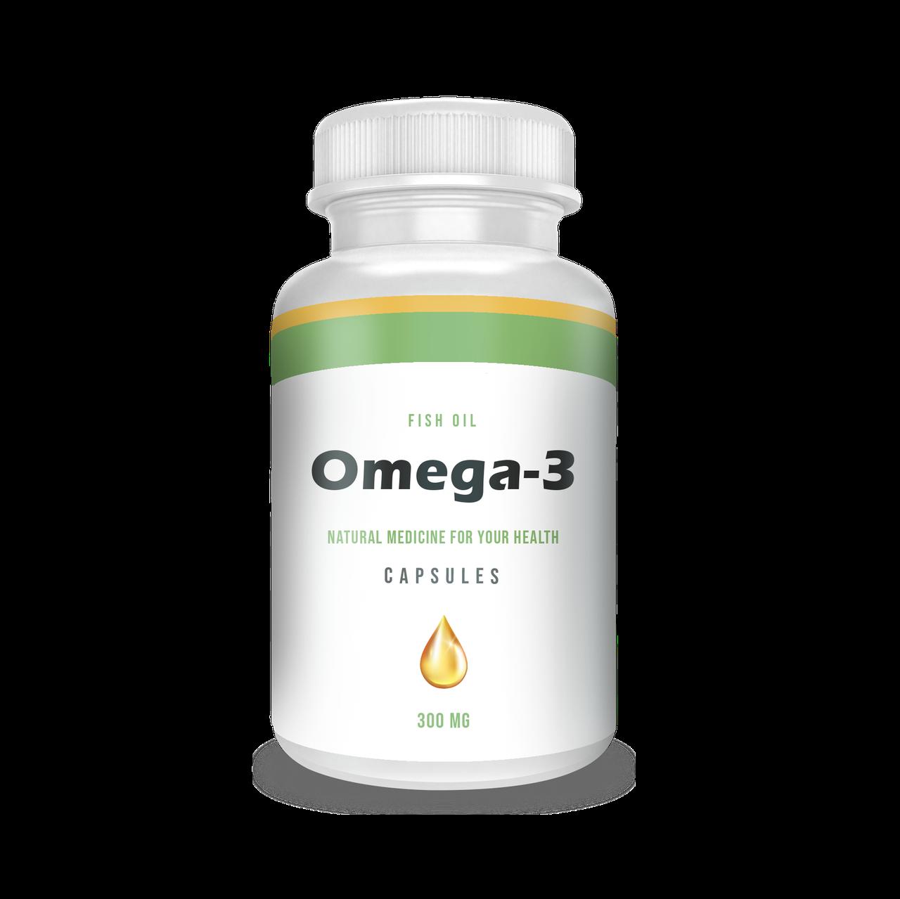 Омега-3, рыбий жир премиум-класса, 240 мягких капсул с рыбным желатином