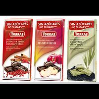 Чем отличается шоколад без сахара Торрас от обычных шоколадных плиток