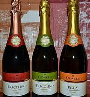Шампанское Фраголино в новогодней корзине в Днепре