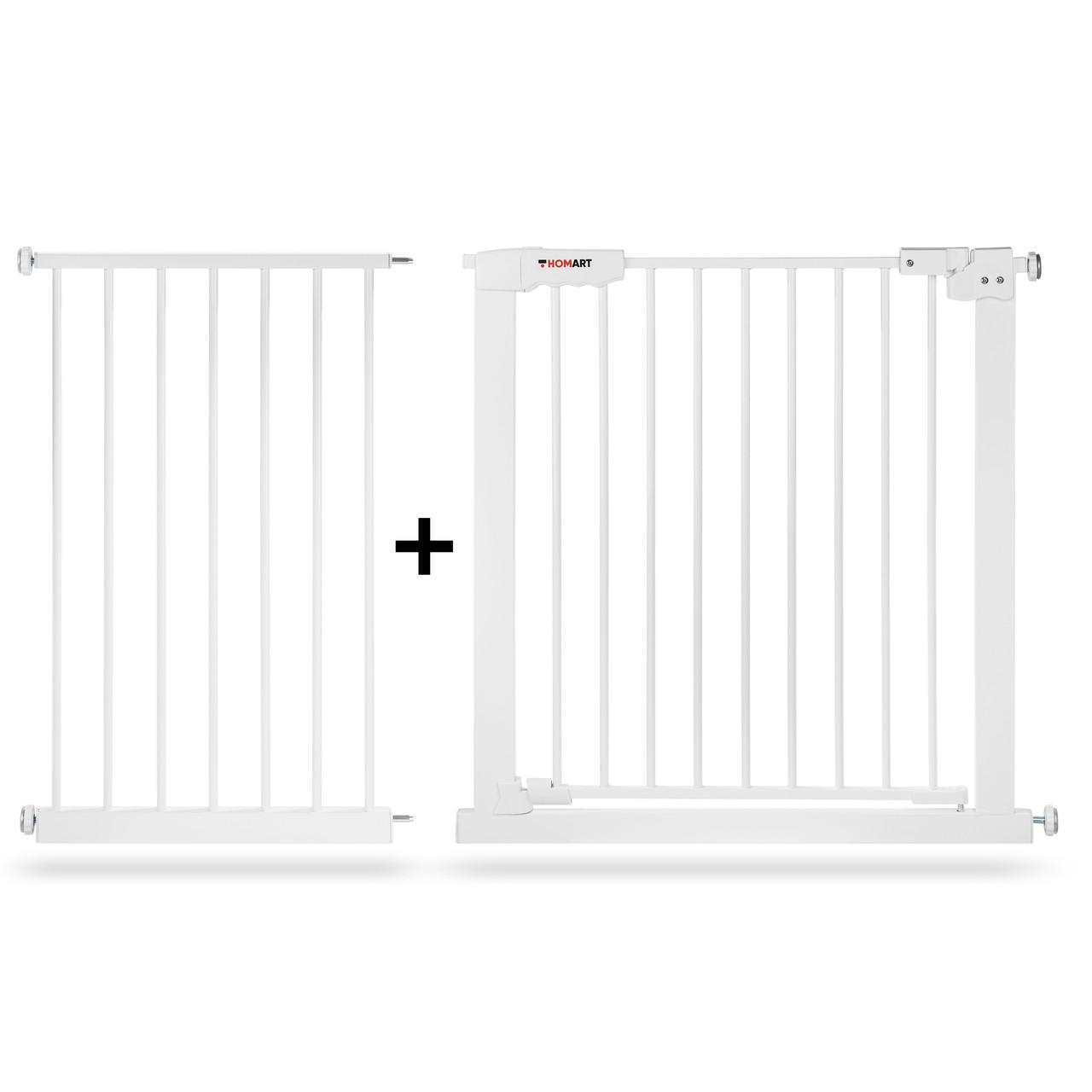 Бар'єр ворота безпеки для дітей Homart XXL 157-167 cm (9316)