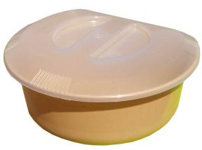 Миска кух. 5л с сеткой для слива