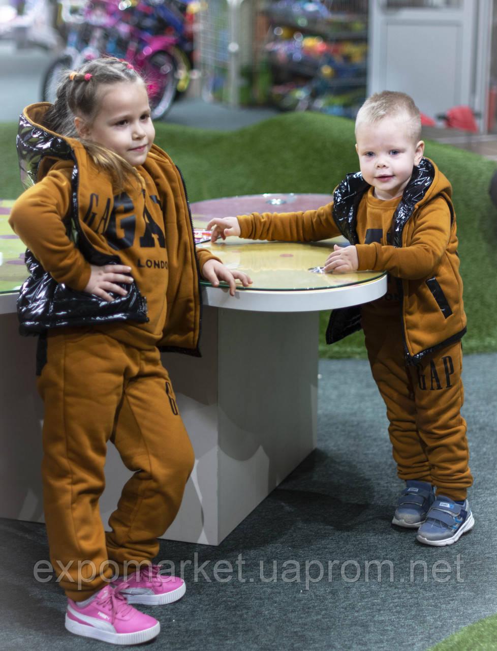 Детский костюм флис gap