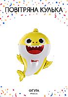 Акулёнок желтый 49x67 см