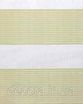 Рулонні штори день-ніч Зебра барселона, фото 2
