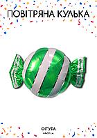 Фольгированная конфета зеленая 44х59см