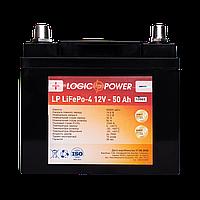 Аккумулятор для автомобиля литиевый LP LiFePO4 12V - 50 Ah (+ слева, прямая полярность) пластик, фото 1