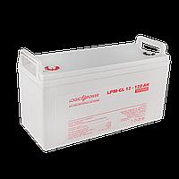 Аккумулятор гелевый LogicPower LPM-GL 12 - 120 AH, фото 1
