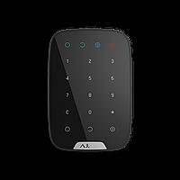 Беспроводная сенсорная клавиатура Ajax KeyPad (черная)