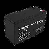 Аккумулятор кислотный AGM LogicPower LP 12 - 7,5 AH, фото 1