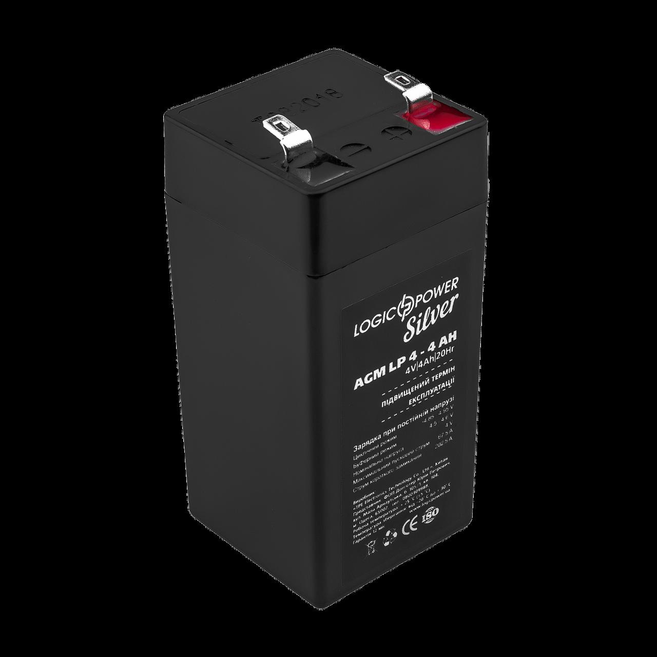 Аккумулятор AGM LP 4-4 AH SILVER