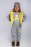 Утепленный детский костюм тройка gap, фото 8
