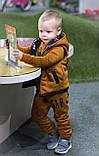 Утепленный детский костюм тройка gap, фото 9